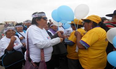 Adultos mayores participarán en caminata de integración